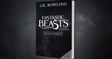 J.K. Rowling จะตีพิมพ์บทภาพยนตร์ Fantastic Beasts and Where to Find Them ขาย 19 พฤศจิกาฯนี้  !