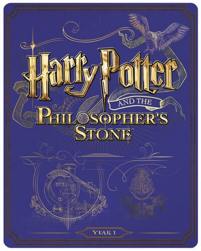 UK HP Blu-ray Steelbooks - 1