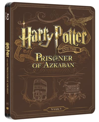 UK HP Blu-ray Steelbooks - 3