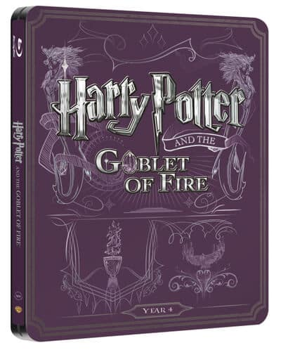 UK HP Blu-ray Steelbooks - 4