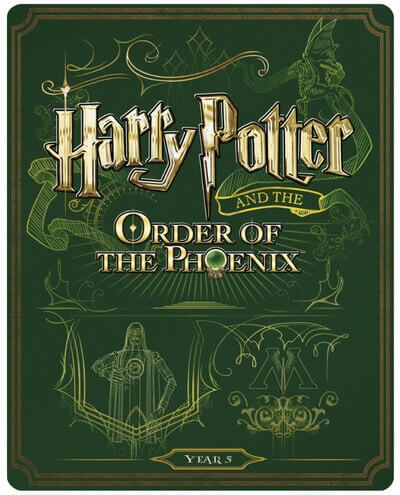 UK HP Blu-ray Steelbooks - 5
