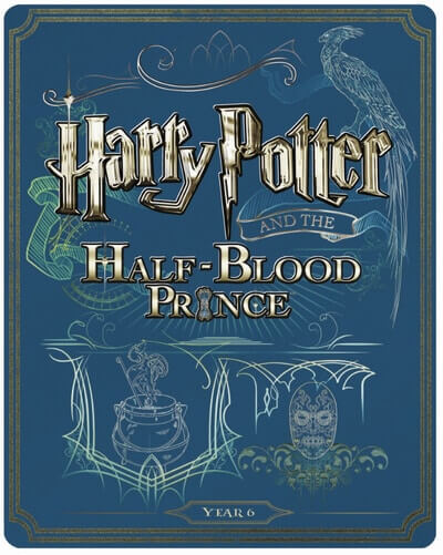 UK HP Blu-ray Steelbooks - 6