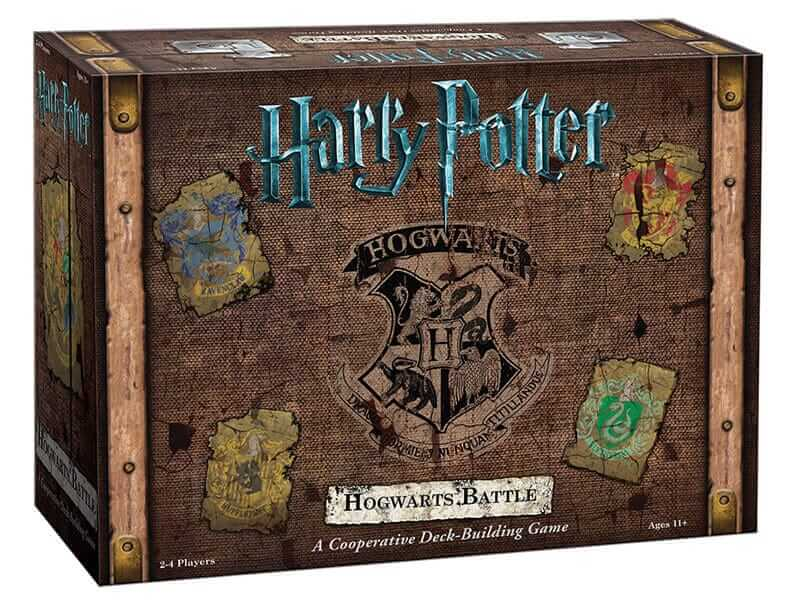 "USAopoly เตรียมวางจำหน่าย ""Harry Potter- Hogwarts Battle"" บอร์ดเกม-1"