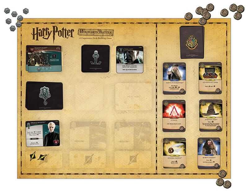 "USAopoly เตรียมวางจำหน่าย ""Harry Potter- Hogwarts Battle"" บอร์ดเกม-4"
