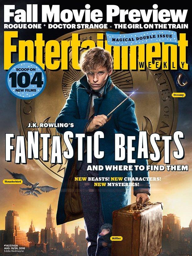 """ภาพใหม่ของภาพยนตร์ """"สัตว์มหัศจรรย์และถิ่นที่อยู่"""" จาก Entertainment Weekly-5"""