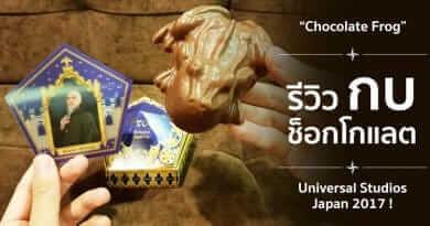รีวิว 'กบช็อกโกแลต' จากโลกเวทมนตร์  'แฮร์รี่ พอตเตอร์' !!!