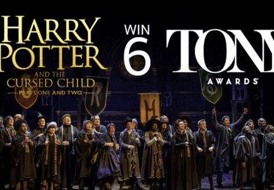 ละครเวที 'แฮร์รี่ พอตเตอร์ กับ เด็กต้องคำสาป' คว้า 6 รางวัลจาก Tonys !