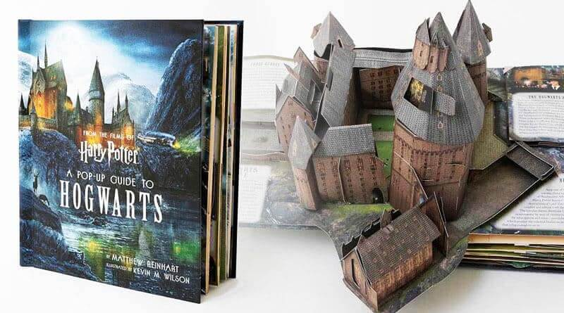 ตุลาคมนี้ Harry Potter: A Pop-Up Guide to Hogwarts ปกแข็งมาแน่ !!