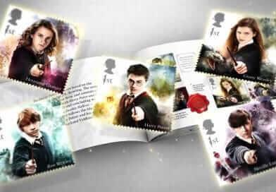 """Royal Mail จำหน่ายแสตมป์ลาย """"แฮร์รี่ พอตเตอร์"""" !!"""
