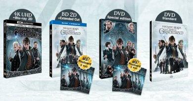 """Blu-ray & DVD """"สัตว์มหัศจรรย์: อาชญากรรมของกรินเดลวัลด์"""" วางจำหน่ายแล้ว วันนี้ !"""
