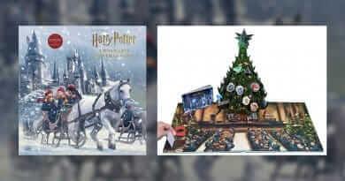 """สินค้าใหม่ """"Harry Potter: A Hogwarts Christmas Pop-Up"""" วางจำหน่ายแล้ว !!"""
