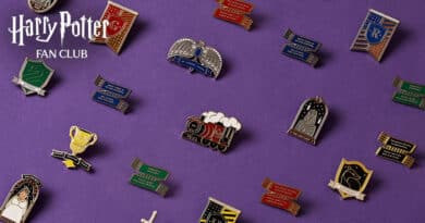 เข็มกลัด Official Harry Potter Fan Club Pin Collection !
